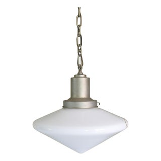 Large Conical Industrial Ceiling Fixture