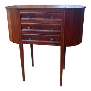 19th Century Martha Washington Sewing Cabinet