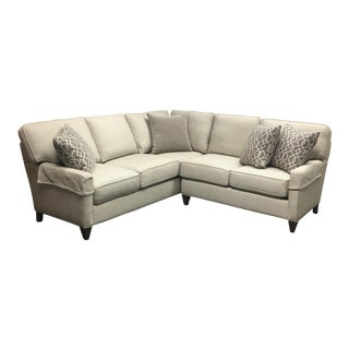 New CR Laine Topsider Sectional in a Neutral Fabric