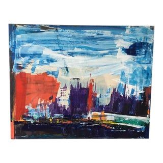 """Jeweled City"" Painting"