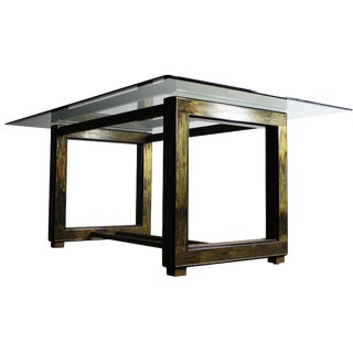 Rohne for Mastercraft Acid-Etch Brass Table