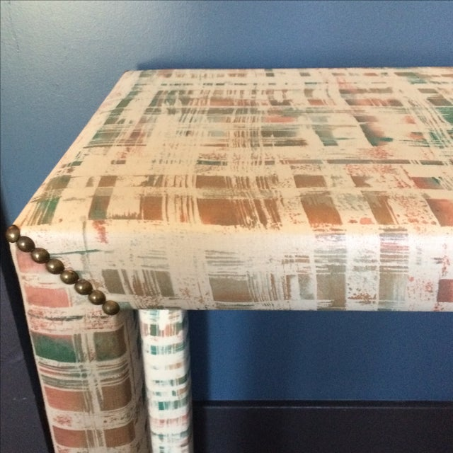 Upholstered Sofa Table - Image 11 of 11