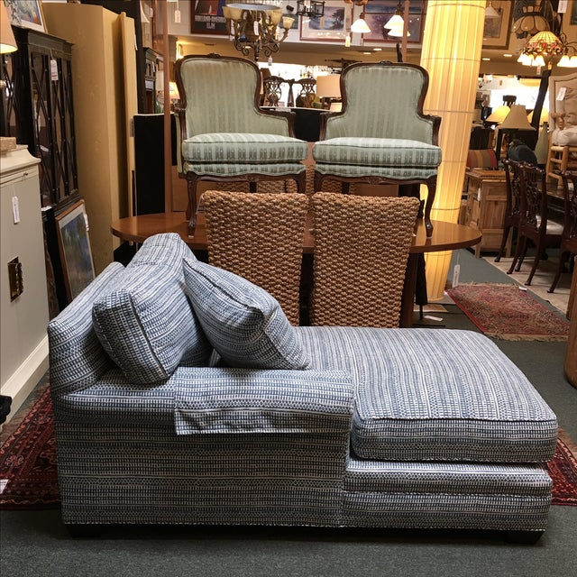 Lee Industries Down & Feather Chaise - Image 9 of 10