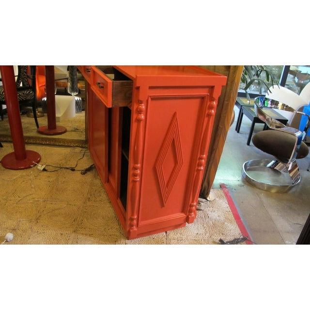Image of Large Lacquered Bar or Host Stand