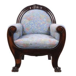 Antique Art Nouveau Arm Chair