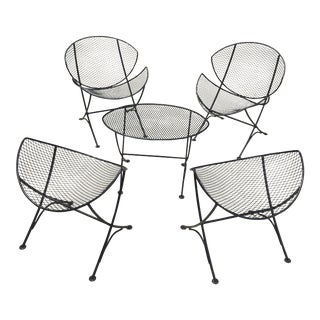Salterini Orange Slice Patio Set - Set of 5