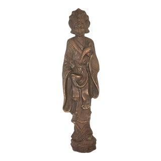 Vintage Kwan Yin Wall Statue