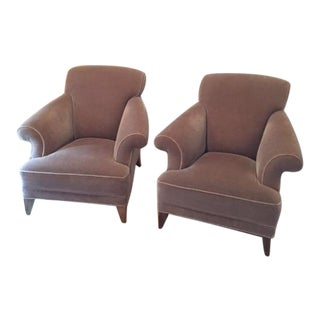 Todd Hase Francis Club Chairs - A Pair