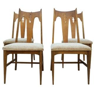 Mid-Century Bassett Dining Chairs - Set of 4