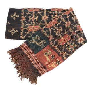 Handwoven Ikat Sumba Blanket