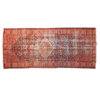 "Antique Malayer Rug Runner - 4'11"" x 11'4"""