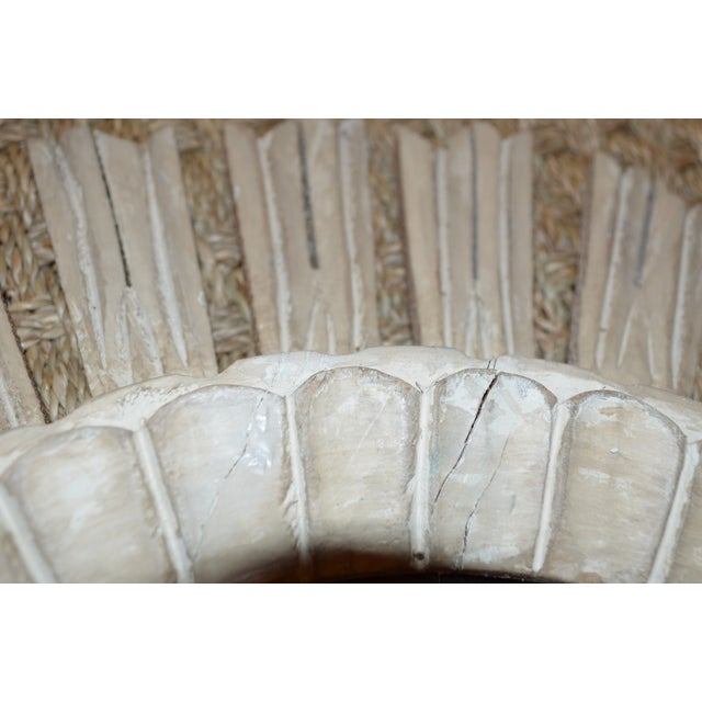 Arteriors Home Hand Carved Sunburst Mirror - Image 3 of 8