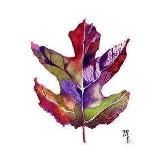 Oak-Leaf Hydrangea Print
