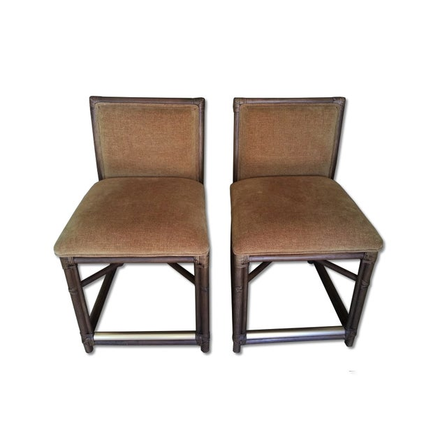 Image of Palacek Counter Stools - a Pair