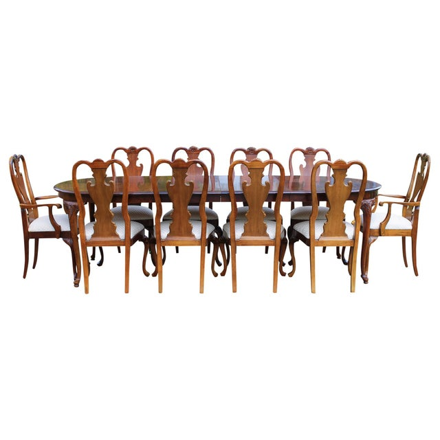 Thomasville Cherry Formal Dining Set - Image 2 of 10