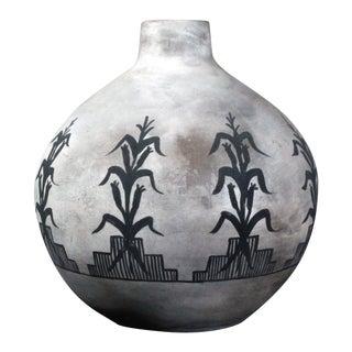 Vintage David Israel Native American Pottery Vase