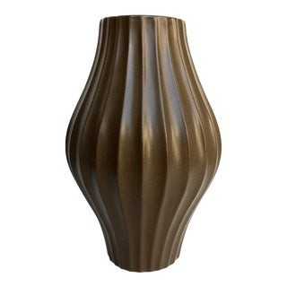 Jonathan Adler Brown Belly Vase