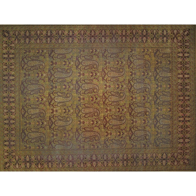 Leon Banilivi Antique Amritzar Carpet - 9' X 12' - Image 2 of 5