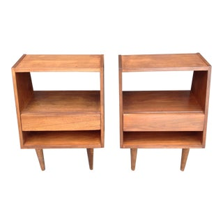 Mid-Century Modern Glenn of California Nightstands - A Pair