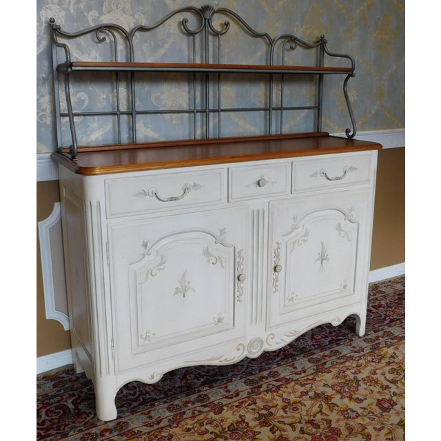 Ethan allen legacy painted french sideboard chairish - Ethan allen buffet table ...