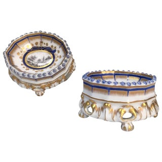 19th Century Nymphenburg Master Salt Cellars - A Pair