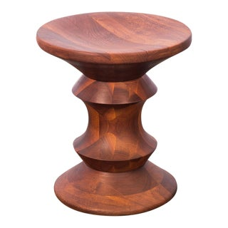 Eames Time Life Walnut Stool A