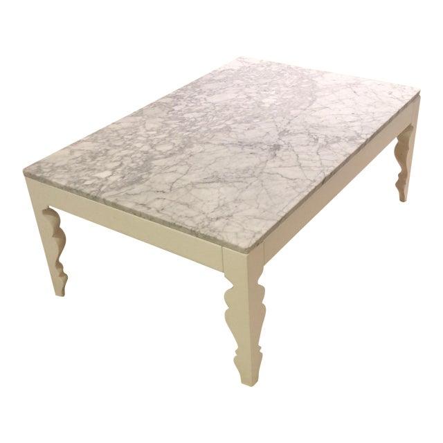 Arhaus Marble Coffee Table Chairish