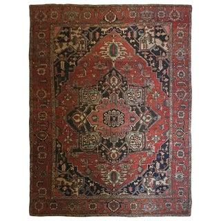 Circa 1900 Serapi Oriental Carpet - 10′ × 11′5″