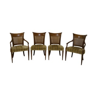 Baker Furniture Regency Style Dining Chairs - Set of 4