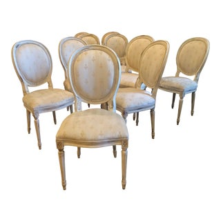 Councill Carved Upholstered Dining Chairs - Set of 10