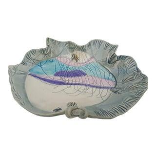 John Jan Myers Grove Sc. Art Handmade Decorative Bowl Fish .