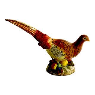 Mid-Century Fitz and Floyd Pheasant Figurine