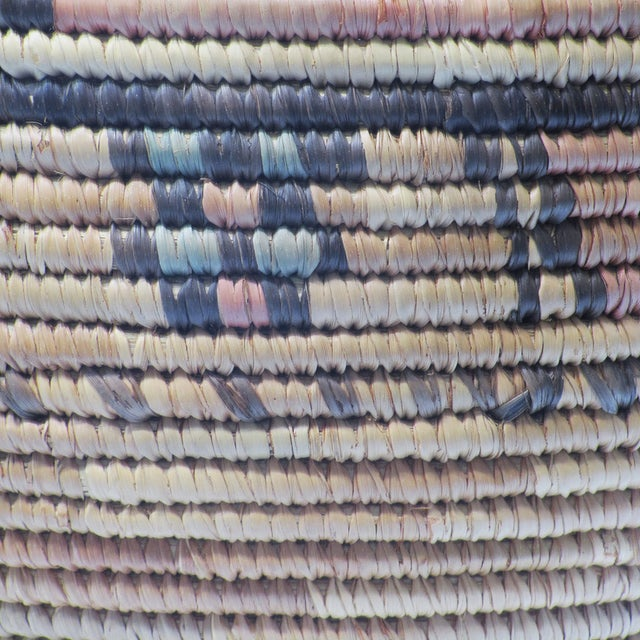Natural African Woven Basket - Image 2 of 3