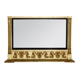 Antique English William IV Overmantle Mirror