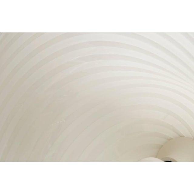 Murano Swirl Glass Dome Pendant Light - Image 8 of 9