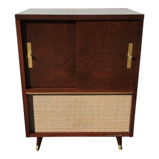 Mid-Century High Fidelity Record Cabinet