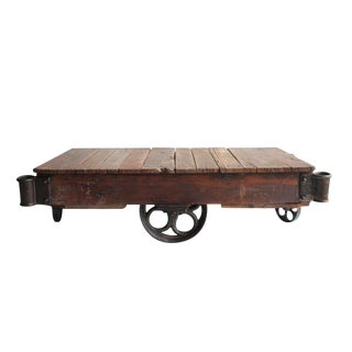American Industrial Cart Coffee Table, 20 Available