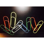 Image of Large Pop Art Paper Clips Sculpture