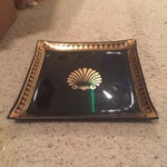 Image of Vintage George Briard Glass Tray
