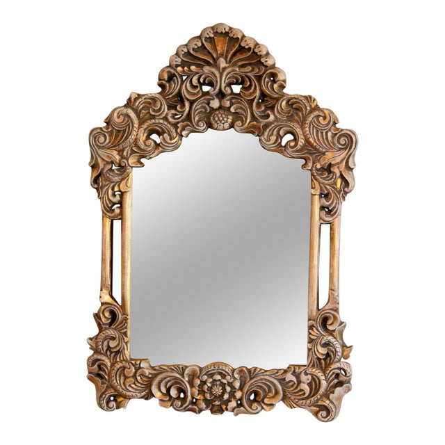 Gilded Victorian Style Mirror - Image 1 of 6