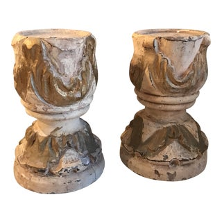 French Candleholders - Pair