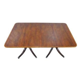 1950s Baker Mahogany Dining Table