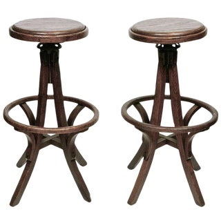 American High Stools - A Pair
