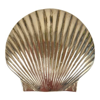 Nautical Brass Seashell Door Knocker