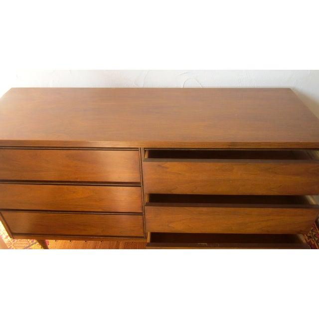 MCM Mid Century Modern Wood Credenza - Image 7 of 11