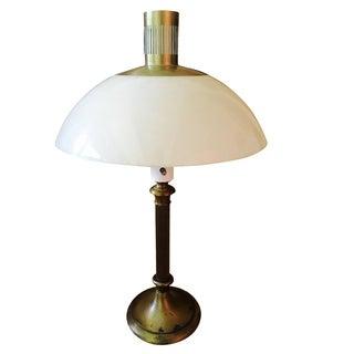 Lightolier Mushroom Resin Lamp