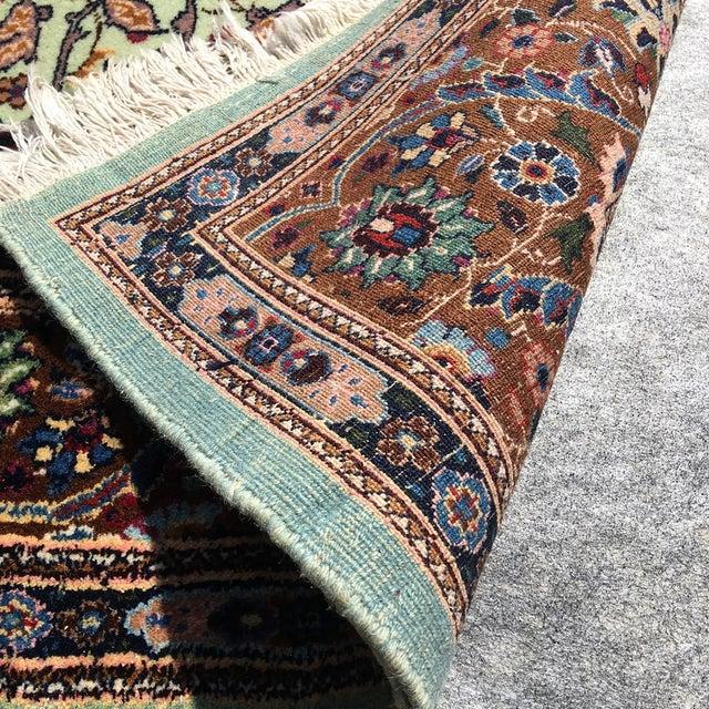 Image of Green & Brown Oriental Rug - 12' x 9'