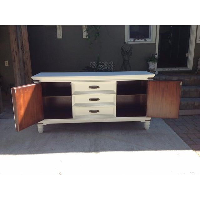 Image of White Large Buffet Dresser