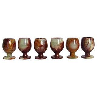 Petite Onyx Goblets - Set of 6