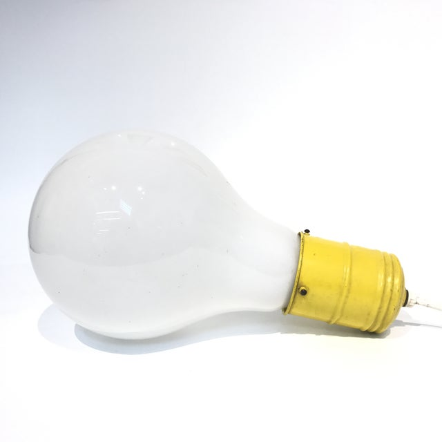 Pop Art Lightbulb Lamp - Image 2 of 5